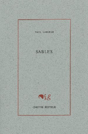SABLES, de Paul Laborde