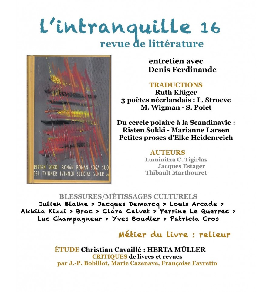 L'intranquille n°16